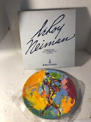 Leroy Neiman Harlequin Charger Plate Royal Doulton Numbered Limited Edition 1974