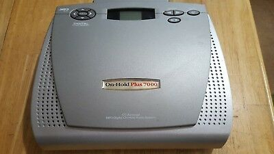 On-Hold Plus 7000 Cd Autoload Mp3 Digital On-Hold Audio System With Power Supply