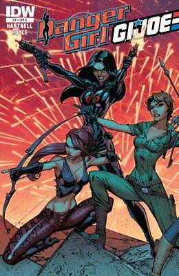 Danger Girl G.I Joe #2A IDW