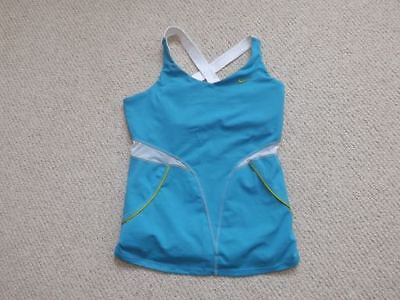 Nike Dri-Fit Vest Top With Built In Bra Size S Worn Once Only Gt Summer 8/10