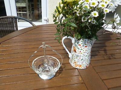Gorgeous Vintage Silver Plated Stand And Bowl-Sugar, Pickles, Olives