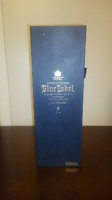 Johnnie Walker Blue Lable Box And Bottle