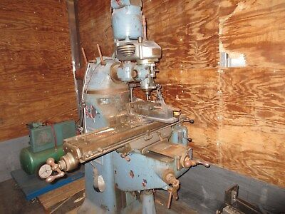 Bridge Port Milling Machine