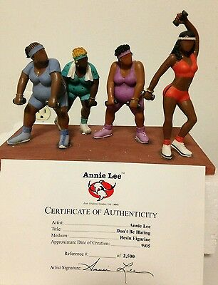 Annie Lee Figurine - Don't Be Hatin        limited edition