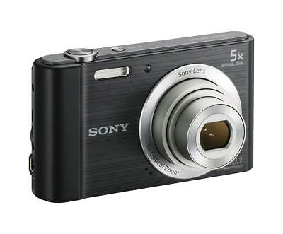 Sony Cyber-shot DSC-W800 20.1 MP Digital Camera Black - Mint cond.
