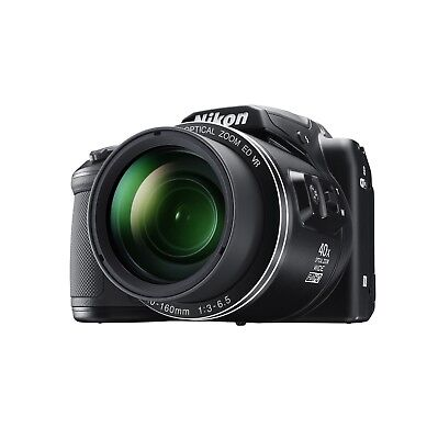 Nikon COOLPIX B500 Black 40x Optical Zoon 16.0MP Digital Camera Open Box