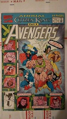 The Avengers Annual #21 NM+