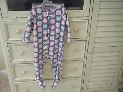 Carter's Child Of Mine Footed Pajama Girls 18M