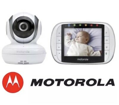 BRAND NEW Motorola MBP36S Digital Baby Monitor Camera/Night Vision/Thermometer