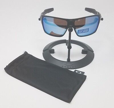 4dcd29b39e0 OAKLEY TURBINE ROTOR Sunglasses Polished Black Polarised Deepwater OO9307-08  -  81.00