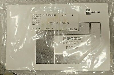 TEKTRONIX temperature probe p6430 with manual
