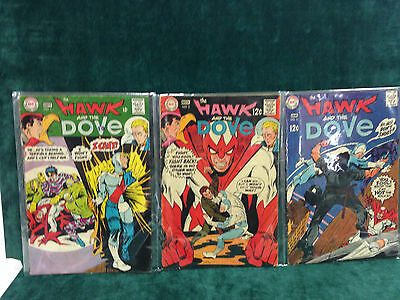 Dc Comics The Hawk And The Dove Issues Run 1,2,3,4,5,6 Steve Ditko