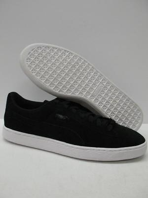 13a6a0b32e2 PUMA 361500 Trapstar Suede Athletic Trainer Casual Shoes Sneakers Black  Mens 12