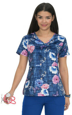 196214af5fb koi Women's Alice Print Top 365PR-FGR (Falling Roses) Sizes XS to 3X