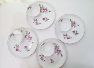 Japanese Rose Floral Snack Tea set – 8 pieces