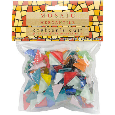 Diamond Tech Crafts CC-CY-AST Crafter's Cut Angles .5lb-Assorted (3Pk)