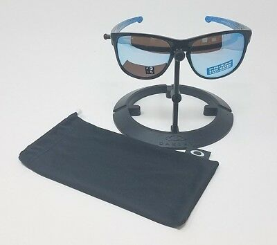 Oakley Oo9342-12 Black Polarized Sliver Authentic Sunglasses