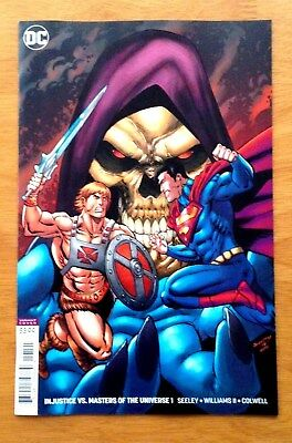 Injustice Vs Masters of the Universe 1 Cover B Variant 1st Print DC 2018 NM