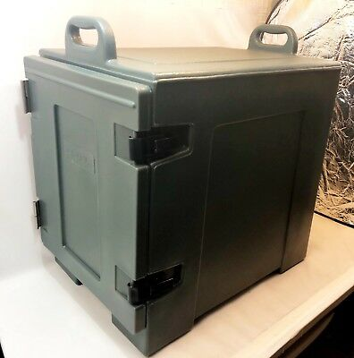 Carlisle PC300N59 Cateraide End-Loading Insulated 5 Food Pan Carrier Slate Blue