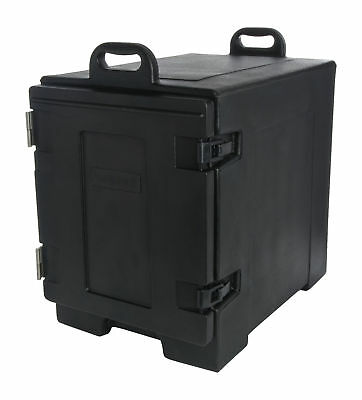 Carlisle PC300N03 Cateraide End-Loading Insulated Food Pan Carrier 5 Pan Black