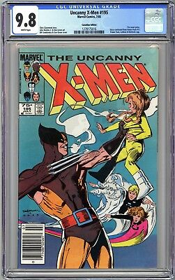 Uncanny X-Men #195 - Cgc 9.8 - .75 Canadian Newsstand Variant - Wp Nm/mt -