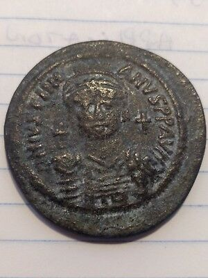 JUSTINIAN I the GREAT 527AD Follis Authentic Ancient Byzantine Coin