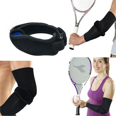 4 Pack Copper Infused Tennis Elbow Sleeve Compression Support Brace Pain Relief
