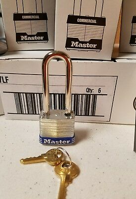 "Master Lock 7LF Keyed Different, 1 1/2"" Shackle"