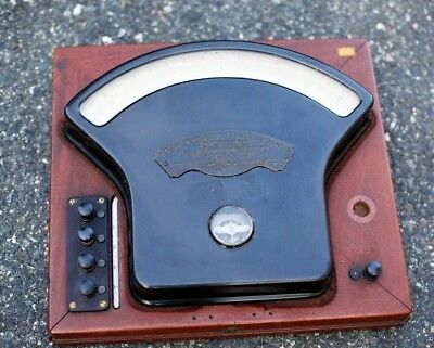 RARE Antique VTG 1890s Weston Direct Reading Laboratory Standard Milli VoltMeter