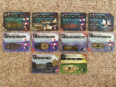 Wizkids Pirates CSG - Mixed French Lot