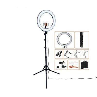 240LED 5500K Dimmable Photography/Photo/Studio/Phone/Video Ring Light Lamp&Tripo