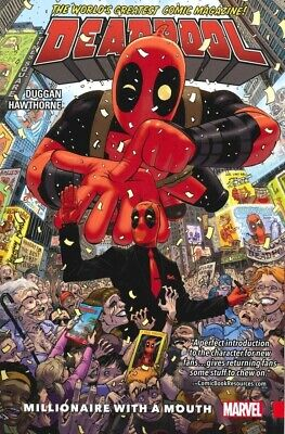Deadpool Vol. 1: Millionare With a Mouth. Marvel Graphic Novel Trade Paperback