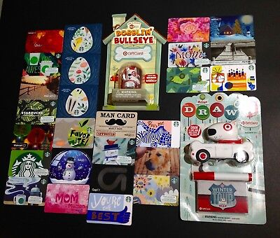 Starbucks / Mcdonalds / Walmart ...... Gift Card -- Lot Of 215  Pcs. -- New