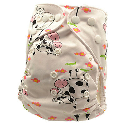 Pocket Modern Cloth Nappies Baby MCN Diaper Reusable Waterproof-Outer-Layer D97)
