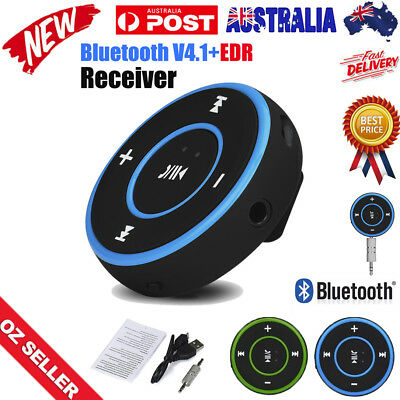 Wireless Bluetooth 3.5mm Audio Stereo Adapter Car AUX  Music Receiver Dongle Hot