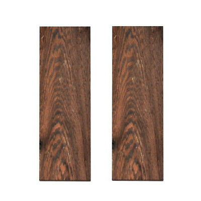 2pcs Sword Knife Handle Wenge Wood Material Scale Slabs Tool DIY 120*40*8mm