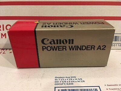 Canon Power Winder A2 New In Original Box w/Instruction Manual
