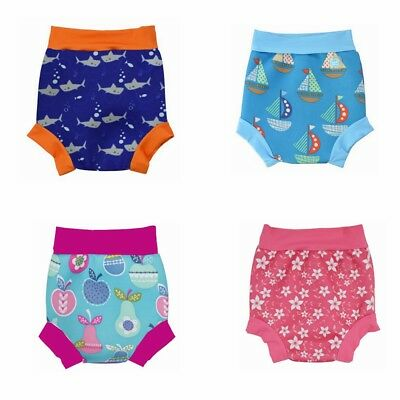 Kids Baby Toddler Boy Girl Quick Dry Swim Nappy Reusable Swimwear Shorts