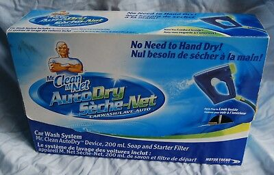 Mr. Clean AutoDry Car Wash System Carwash Soap & Starter Filter Auto Dry