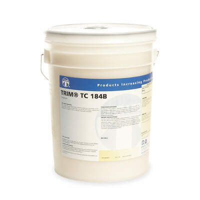TRIM Coolant Additive,5 gal,Bucket, TC184B/5, Opaque White