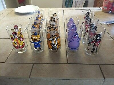 Mcdonalds 1976 Collectible Glasses