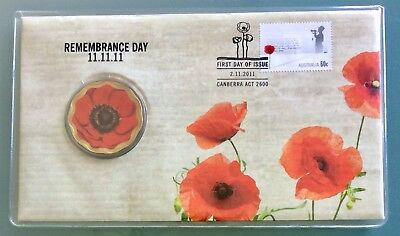 Australia - 2011 - Remembrance Day PNC - RAM $5 Coin Limited Edition 15000