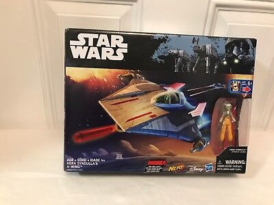 Star Wars Rebels HERA SYNDULLA'S A-WING  with Action Figure Nerf