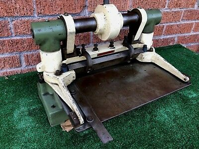 """Vintage Clean Di Acro Shear 12""""  Diacro #3 Back Gauge Works Great Ships 48 Fast"""