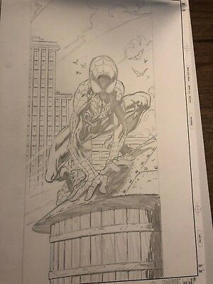 Ultimate Spider-man #30 cover art Mark Bagley Brian Bendis iconic Avengers