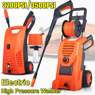 High Pressure Water Cleaner Washer Electric Pump Hose Gurney Car washing Garden