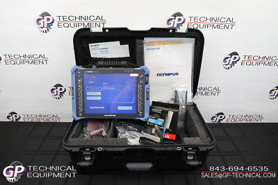 Olympus Omniscan MX2 16:128 P2 Ultrasonic Phased-Array Flaw Detector Panametrics