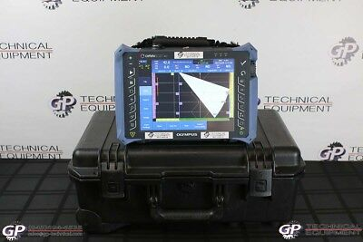 Olympus OmniScan MX2 16:128 Ultrasonic Phased Array Flaw Detector Panametrics UT