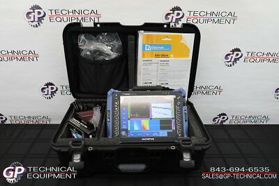 Olympus Omniscan MX2 16:128 Ultrasonic Phased Array Flaw Detector Panametrics