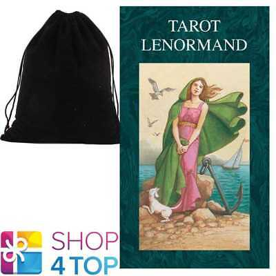 Tarot Lenormand Deck Cards Fitzpatrick Esoteric Oracle Telling With Velvet Bag